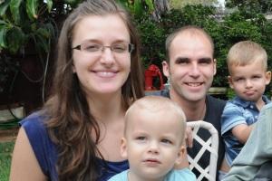 Luke Otterstad and family